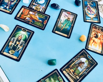 10 Card Tarot Reading. Spiritual Guidance . Spiritual Healing