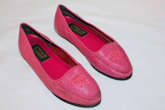 8c35ceff6ef 80 s Vintage IVY CLUB CLASSICS Dark Pink