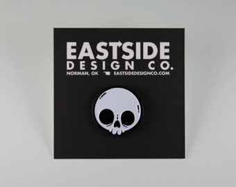 Skull Pin - Eastside Design Co.