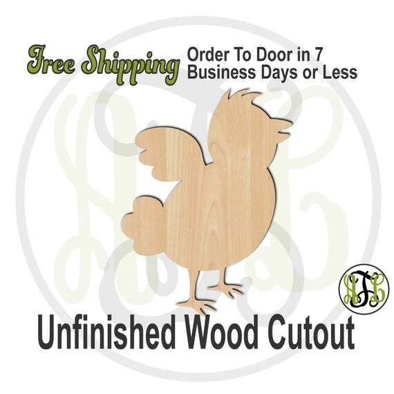 Easter Chick - 14005- Cutout, unfinished, wood cutout, wood craft, laser cut shape, wood cut out, Door Hanger, Holiday, wooden, wall art