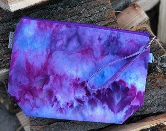 Hand Dyed - OOAK - Medium Watercolor Bag #5