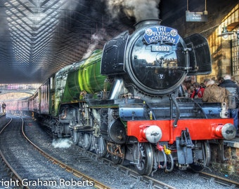 The Flying Scotsman, steam train
