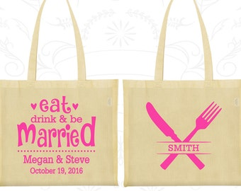 Tote Bag Canvas, Tote Bags, Wedding Tote Bags, Personalized Tote Bags, Custom Tote Bags, Wedding Bags, Wedding Favor Bags (426)