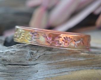Handmade CopperTribal Bracelet Focal