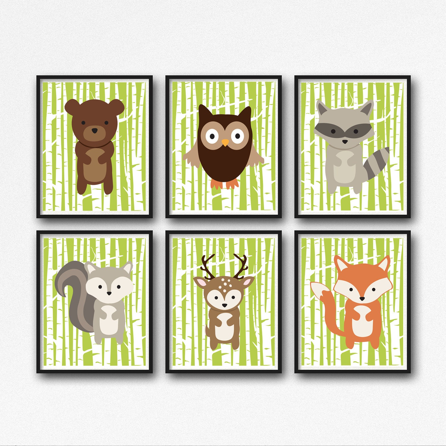 Excellent Animal Wall Art Nursery Pictures Inspiration - The Wall ...