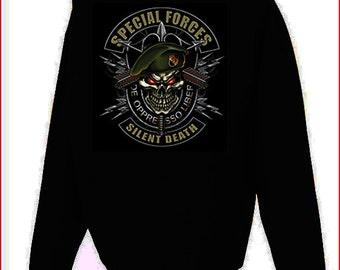 Special Forces Silent Death Hoodie Black S-5XL 6lQZOYxT3m