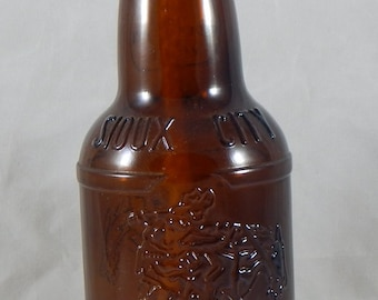 Sioux City Cream Soda Bottle Tiki Torch
