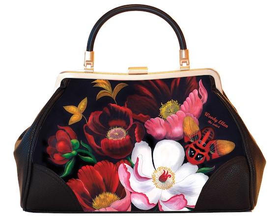 Retro handbag, Vintage handbag, glorious , gift for her, gift for mom, Woody Ellen handbag, christmas gift, Valentine gift ideas