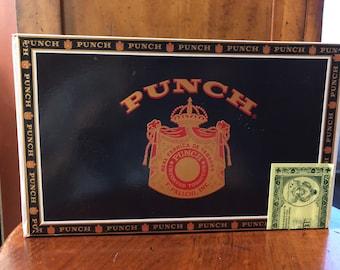 Medium Punch Cigar Box