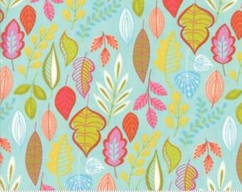 Wing & Leaf Aqua Leafy Moda  Item 10061-14