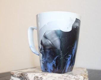 Metallic Art Mug