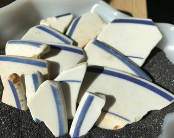 Authentic Bulk beach pottery - Sea pottery - Sea glass crafts - Beach glass crafts - Beach finds - Gift beach lover