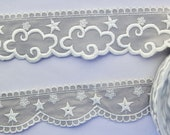 Embroidered Star Trim  or...
