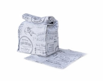 MTO Insulated lunch bag with napkin - French words