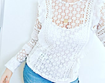 Larry lace blouse