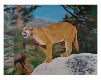 Cougar Special Artist Proof