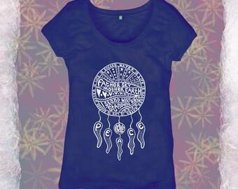Organic Cotton Women's Standing Rock T-shirt -fundraiser for Treesisters