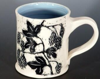 Hoppy beer mug