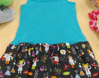 Upcycle Scientist Dress