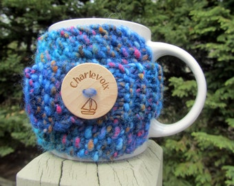 Charlevoix Up North Michigan Coffee Cup Cozy - Perfect for Gift Giving or Keeping and Environmentally Friendly