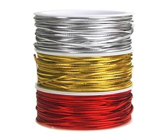 Stretch Cord Ribbon, 1/16-Inch, 25-Feet