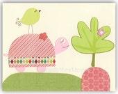 Baby girl nursery Print A...