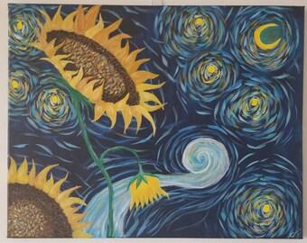 Sunflower Night