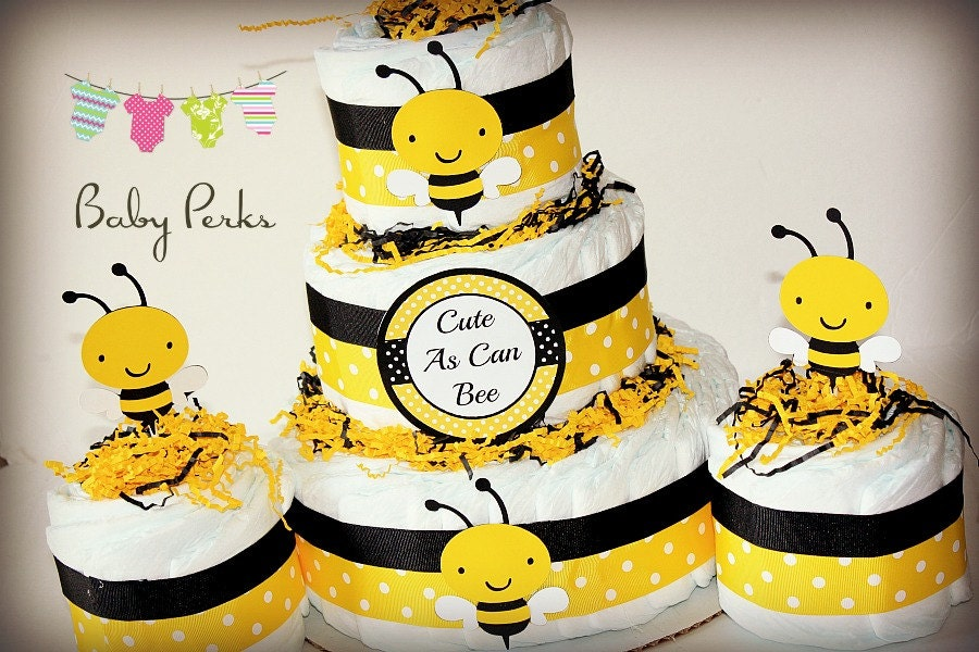 baby bee personalized shower greeter bumble door