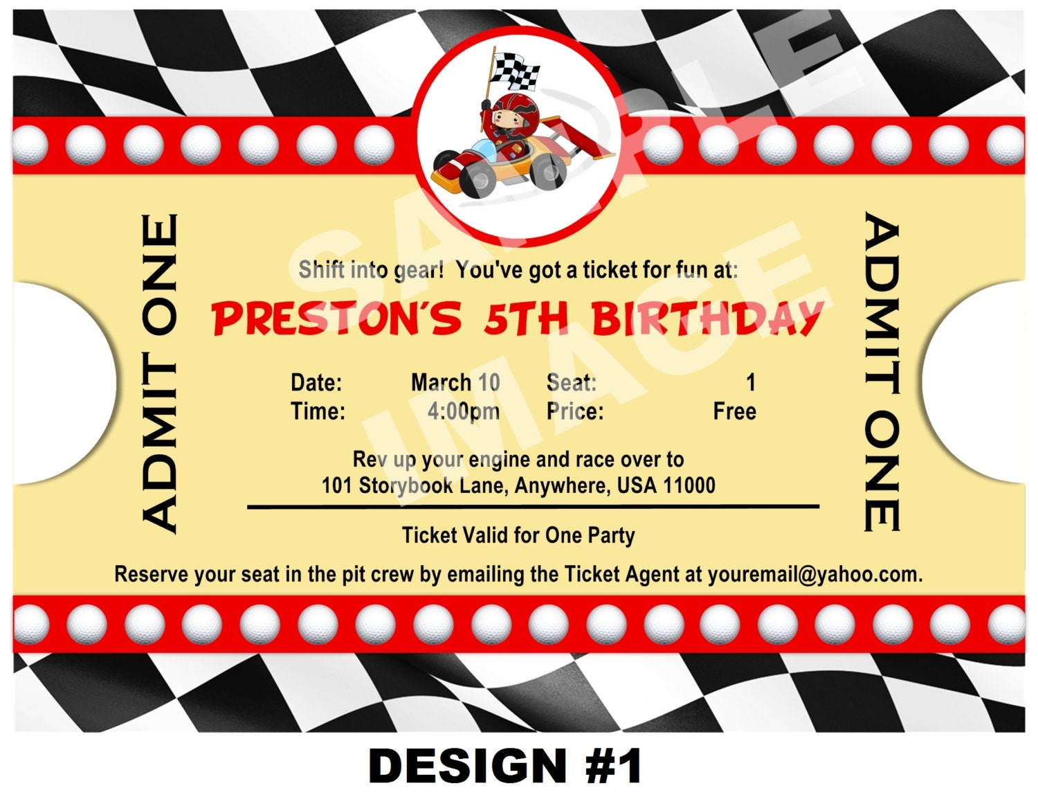 cars birthday invitations printable - Etame.mibawa.co