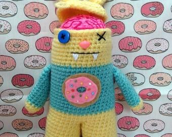 Zombie Bunny Crochet Pattern