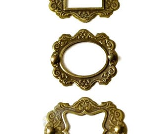 metal frames scrapbooking embellishments
