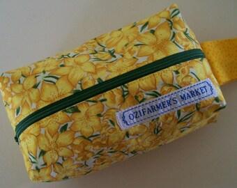 SMALL BOX BAG - Daffodils