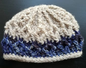 Pattern: Chunky Diamond Cables Hat