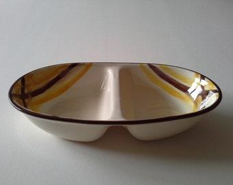 Mid Century  Serving Bowl, Vernonware,