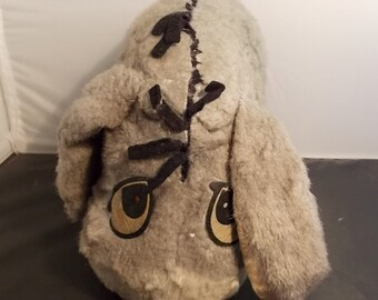 Vintage Winnie the Pooh Plush Stuffed Eeyore Gund Swedin Sweden Eyore Distressed Shabby
