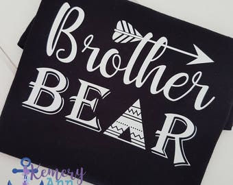 Brother Bear Shirt, Brother Shirt, Family Bear Shirts, Mama Bear, Sister Bear Shirt, Papa Bear Shirt, Bear Family Shirt
