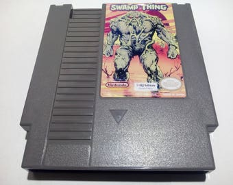 Swamp Thing NES (NTSC-US)