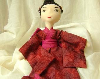 Yasmine, a Geisha doll
