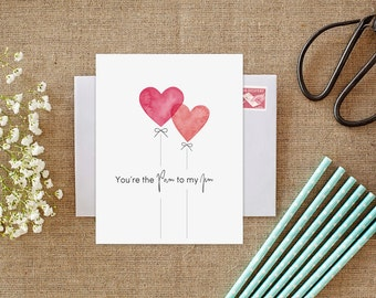 The office tv show card anniversary card printable youre pam to my jim the office tv show the office card the office jim and pam the office jim pam valentines day card for boyfriend love m4hsunfo