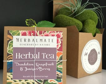 Dandelion, Grapefruit, and Juniper Berry - Bloating Relief Tea / Té para la inflamación intestinal