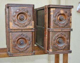 Vintage Sewing Machine Drawer Cases