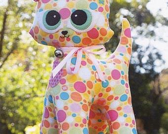 """Cloth Doll PATTERN """"Kiki"""""""