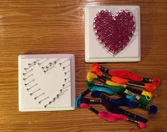 Kids string art craft kit