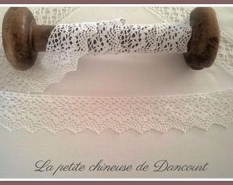 Cotton lace white Clara