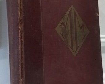 Rare 1917 - The Book Of Modern Marvels - Silk Pages