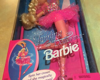 1995 Never Been Opened Twirling Ballerina Barbie