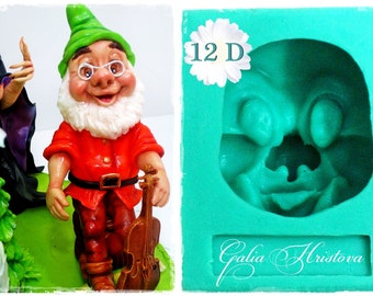 Dwarf 12 D ... / Silicone mould