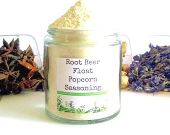 Root Beer Float/Popcorn Seasoning/Gourmet Popcorn/Popcorn Bowl/Popcorn Items/Popcorn/Food Gift/Foodie Gift/Party Favors/Wedding Favors