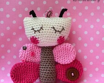 Crochet Pattern - Butterfly by VendulkaM / Amigurumi / Digital tutorial / Pdf