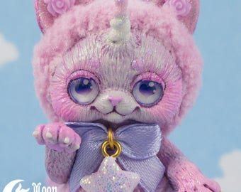 Blüte Caticorn   Spielzeug   Sweet Lolita Mode   Kawaii Kätzchen   Plüsch